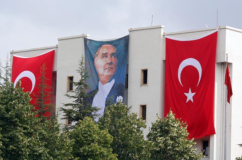 Портрет Кемаля Ататюрка