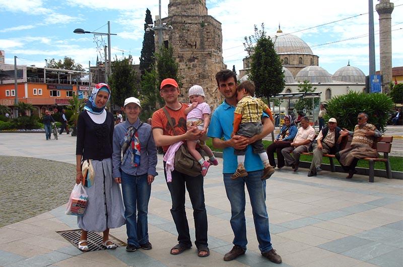 Мы в гостях в Турецкой семье в Анталии