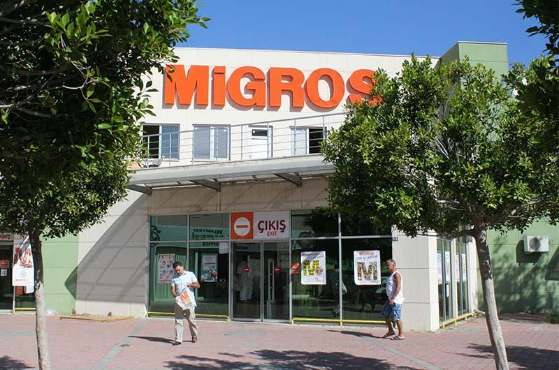 Магазин Мигрос