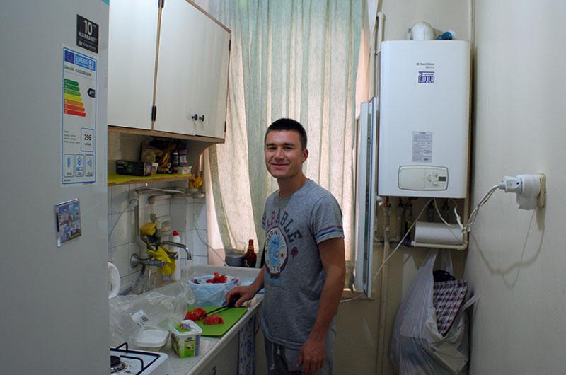 Активный участник каучсёрфинга из Турции (Анкара)