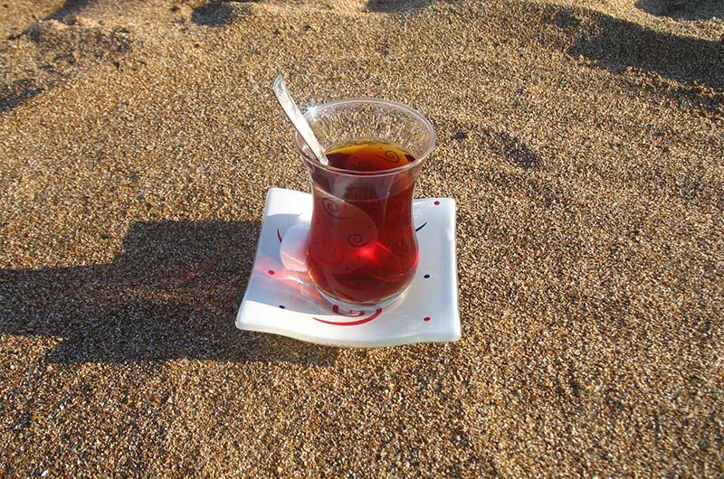 Традиционный турецкий стаканчик (чайбарды)