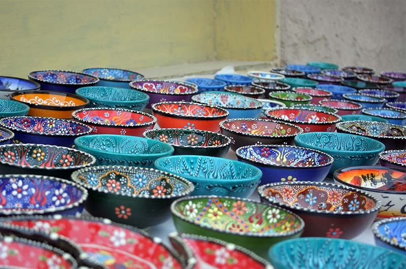 Один из видов турецкой керамики