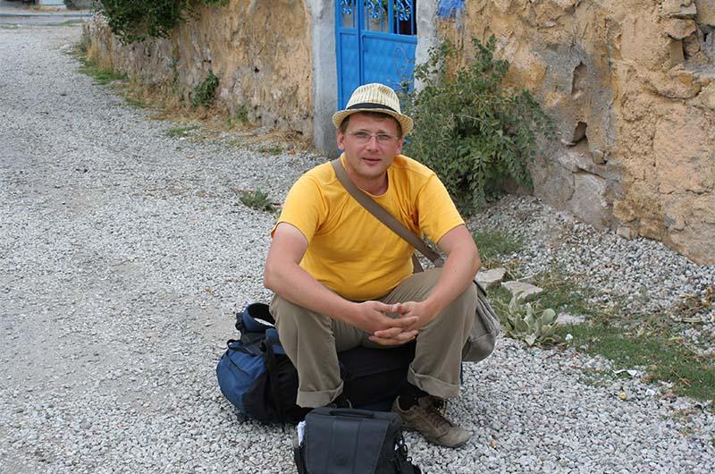 Я во время одиночного путешествия по Турции автостопом