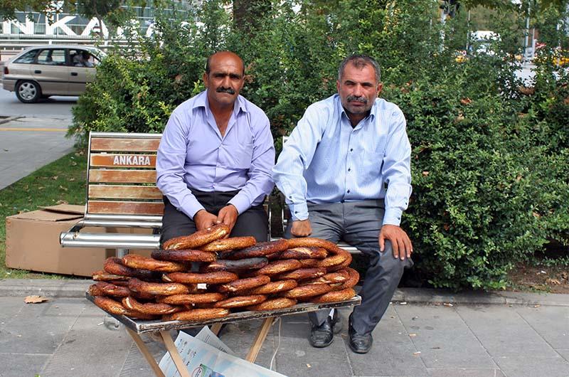 Уличные торговцы в Анкаре