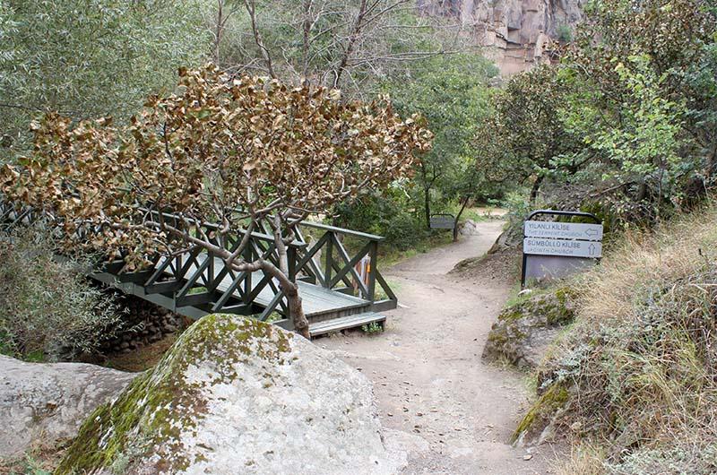 Мост через реку Мелендыз.