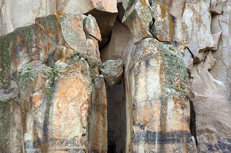 Фрагмент стены каньона Ихлара.