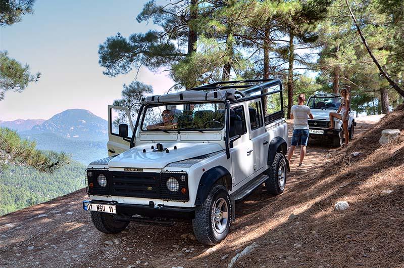 Джип-сафари из Кемера по Таврским горам.