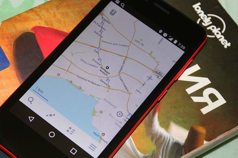 Приложение maps.me для  навигации на моем смартфоне.