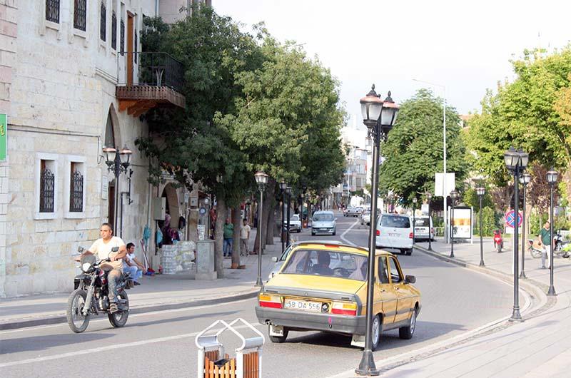 На одной из улиц города.