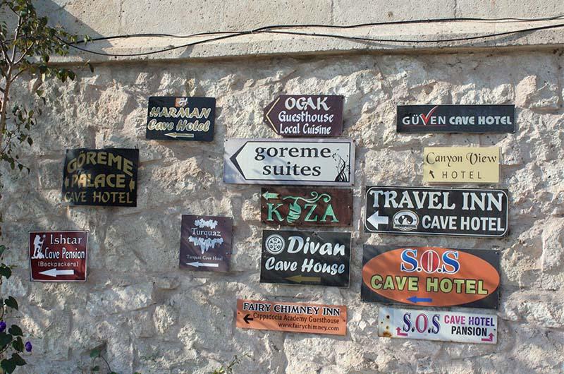 В Гереме очень много отелей и хостелов.