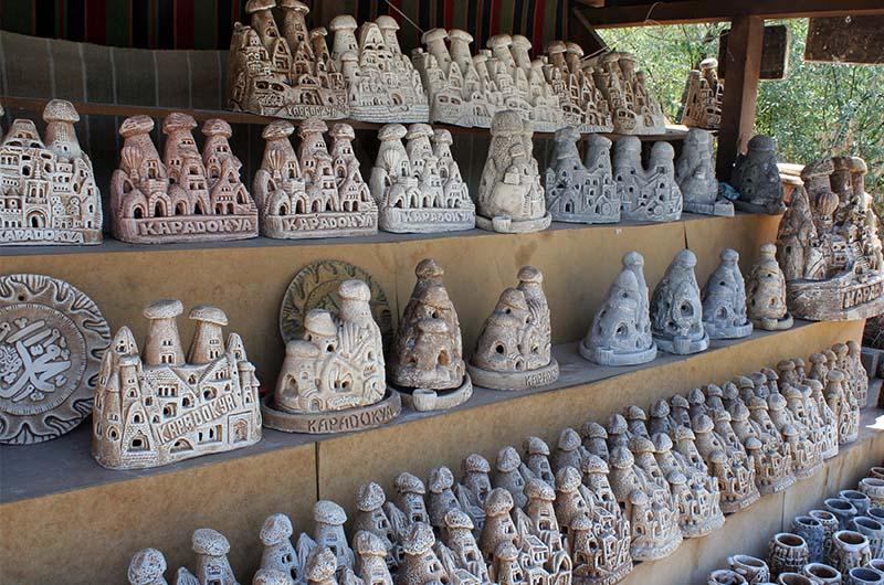 Сувениры в Каппадокии.