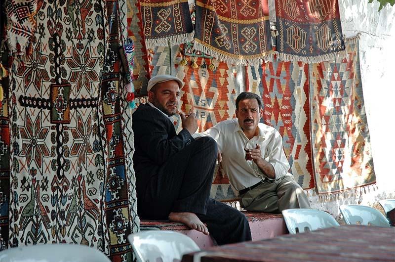 Торговцы коврами в Гереме.