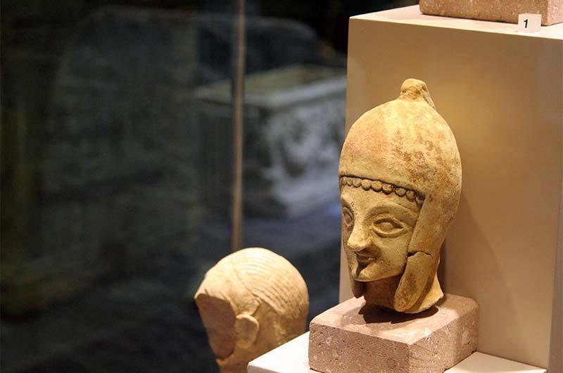 В археологическом музее Алании.