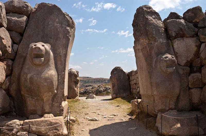 Львиные ворота Хаттусы.