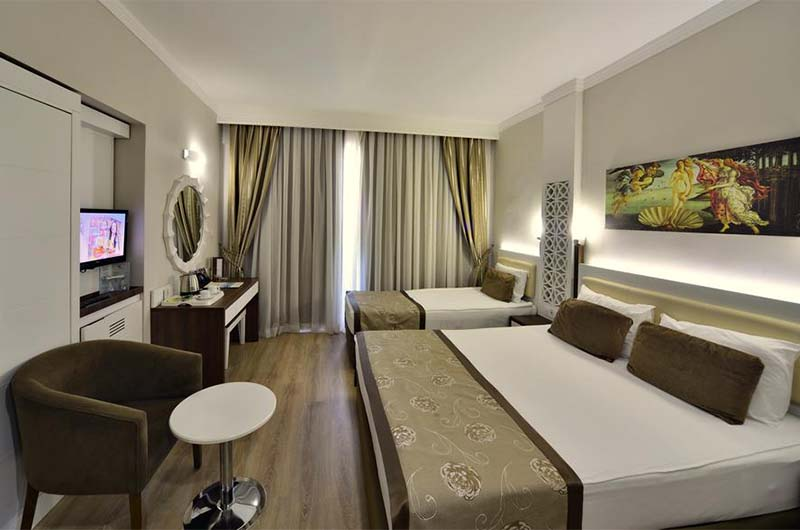 Номер в 5-звездочном отеле Linda Resort Hotel в Сиде.