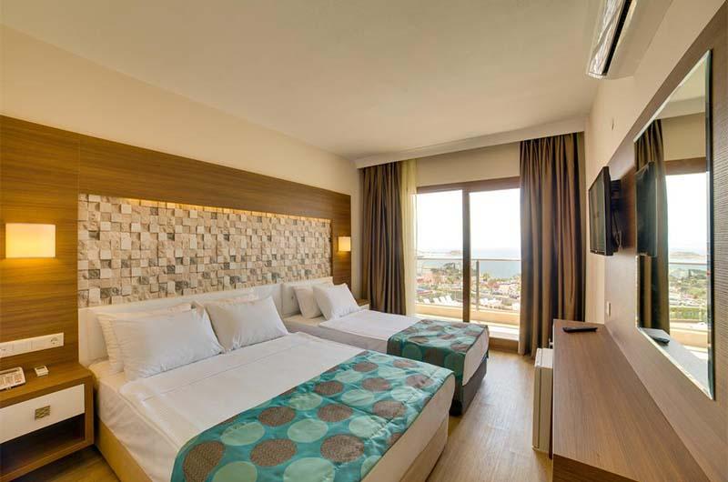 Номер в 4-звездочном отеле Comfort Ada Class Hotel в Кушадасах.