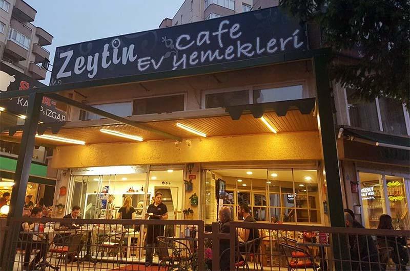 Кафе в центре Ургюпа.