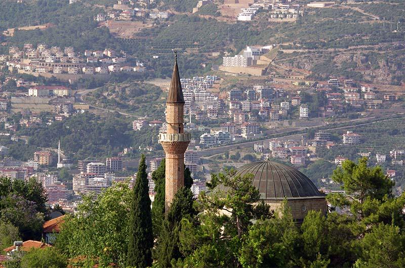 Крепостная мечеть Сулейманийе.