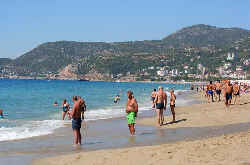 Пляж Клеопатры.