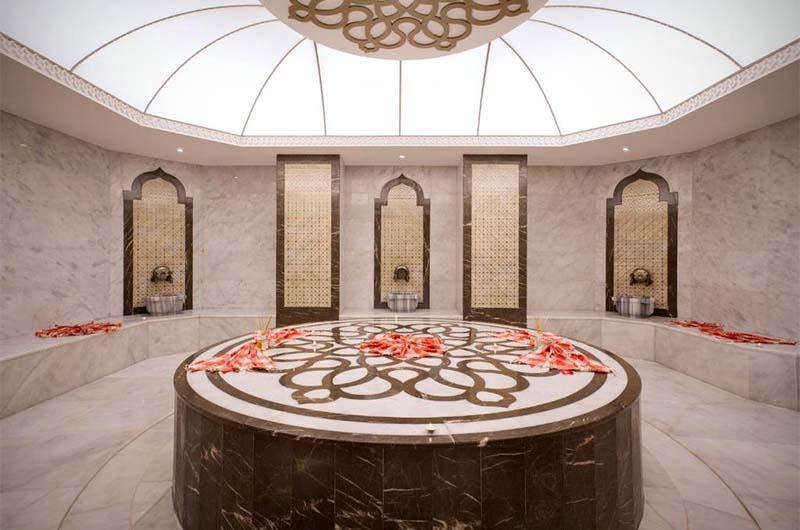 Хамам в отеле Orange Palace Side  в Сиде.