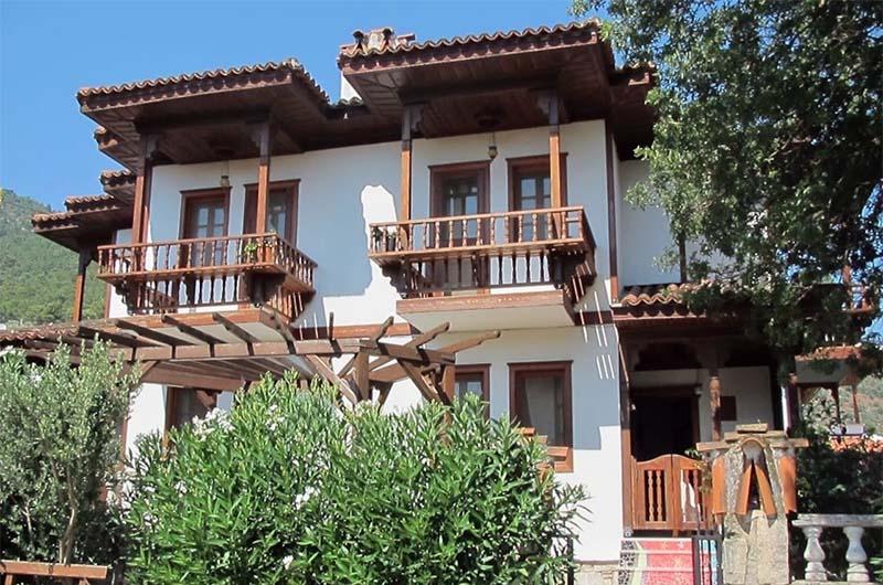 Дом в Мармарисе, который можно забронировать через интернет на сайте Airbnb как альтернативный вариант отелю.
