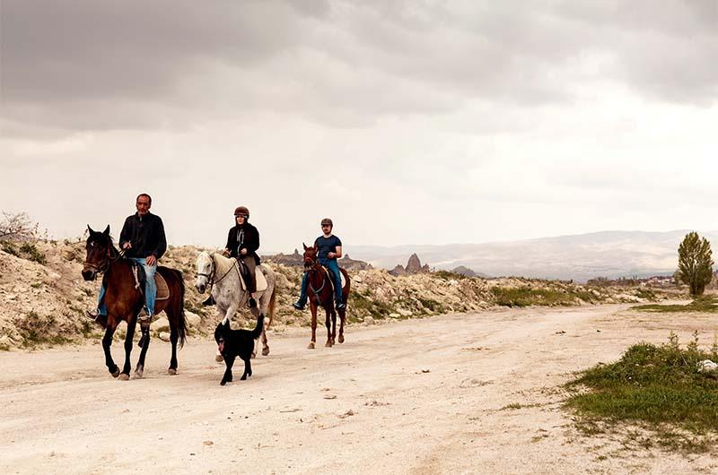 Конные туры в Каппадокии.