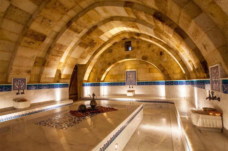 Хаммам в отеле Kayakapi Premium Caves Cappadocia в Ургюпе.