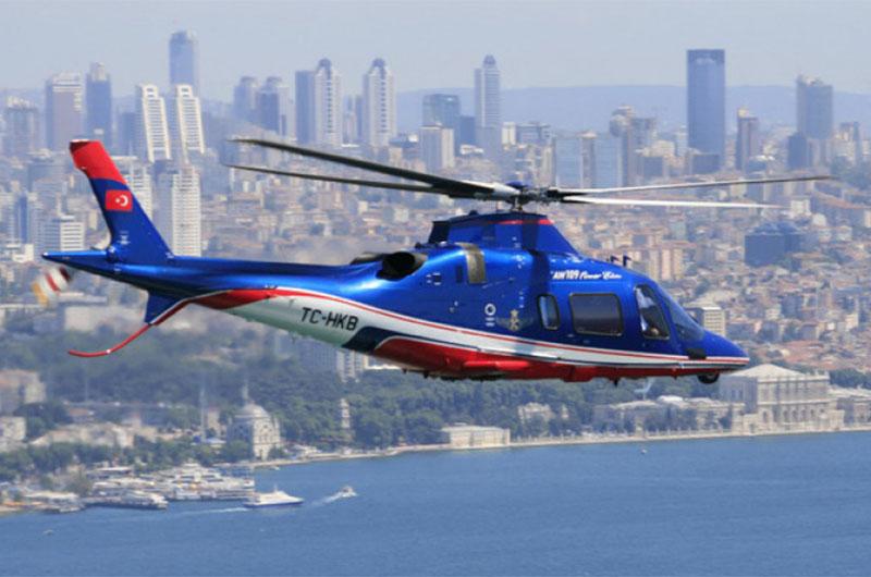 Экскурсия на вертолете над Стамбулом.