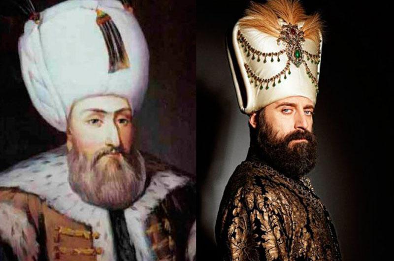 Султан Сулейман и актер, сыгравший эту роль в сериале «Великолепный век».