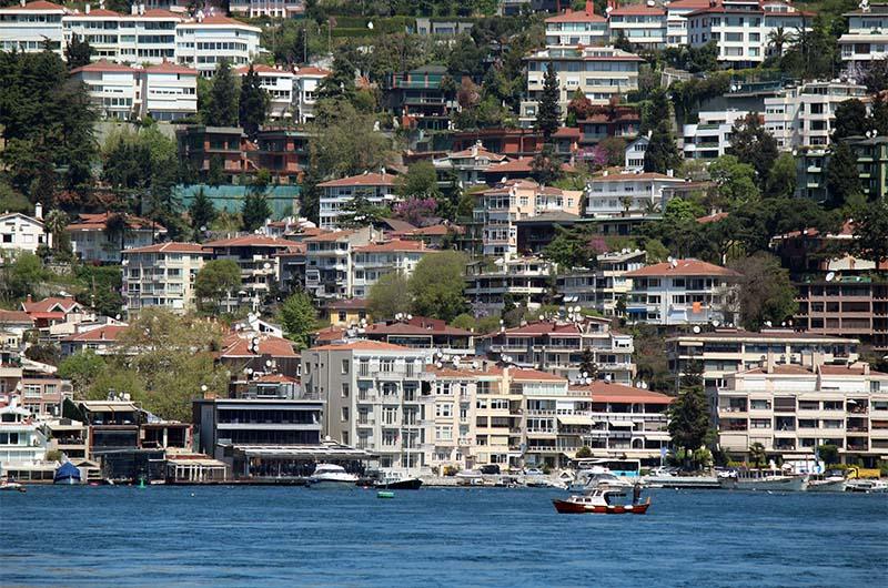 Район Стамбула на берегу Босфора.